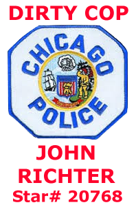 Det. John B. Richter Chicago Police Star 20768